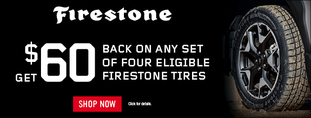 Tire Promotion - Firestone